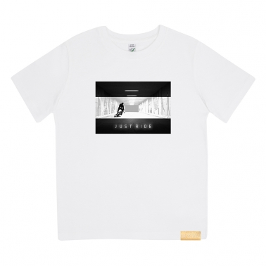 Kinder T-Shirt - GMD Just Ride Tunnel