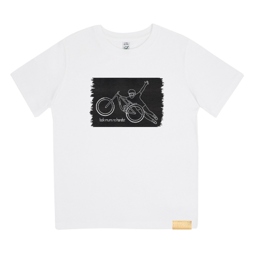 Kinder T-Shirt - GMD Look Mum No Hands